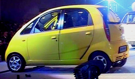 tata nano launch date