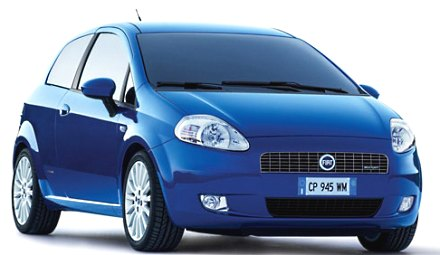 Photo: Fiat Grande Punto for India in 2009