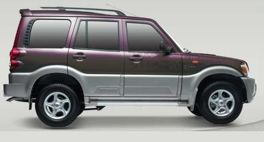 Photo: New Mahindra Scorpio in Mystique Purple