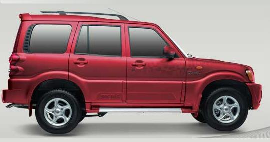 Photo: New Mahindra Scorpio in Toreodor Red