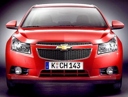 Photo: Chevrolet Cruze coming to India