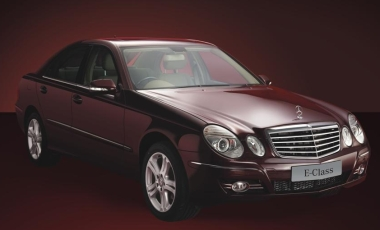 The Mercedes Benz Special Edition E-Class photo