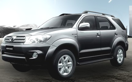 Photo: Toyota Fortuner, now in India