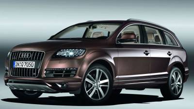 2010 Audi Q7 luxury SUV photo