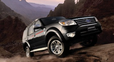 Photo: Ford Endeavour exterior