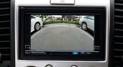 Photo: Reverse Parking camera of the New Ford Endeavour