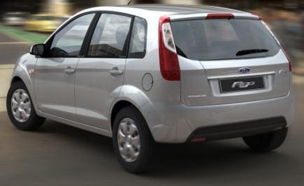 Ford Figo rear 3-quarter picture