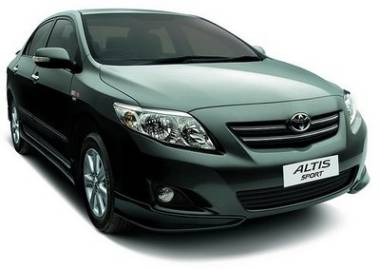 Photo: Toyota Corolla Altis Sport Limited Edition