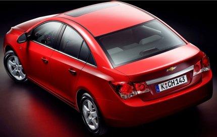 Chevrolet Cruze rear picture: Honda Civic clone?
