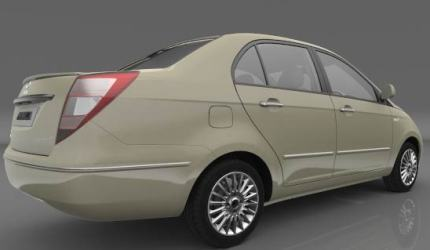 Tata Manza exterior photo, rear end and boot