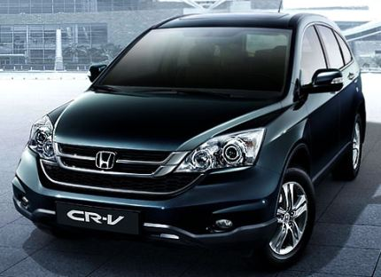 Photo: New Honda CR-V now in India