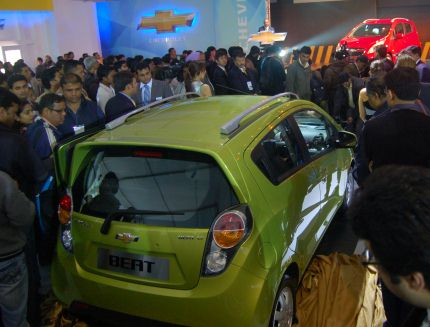 Chevrolet Beat launch photo