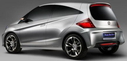 Photo: Honda New Small Concept at Auto Expo 2010