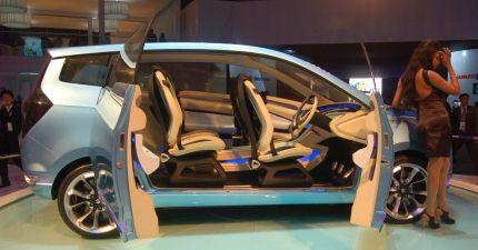 Maruti Concept R3 interior photo