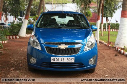 chevrolet beat front photo