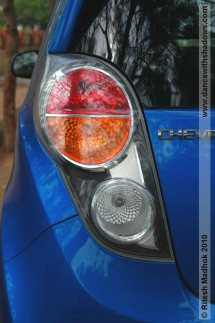 chevy beat tail lamp photo