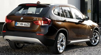 bmw x1 rear photo