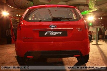 ford figo rear photo