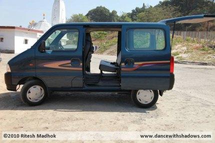 5 seater Maruti eeco picture
