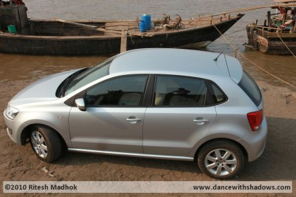 vw polo road test photo