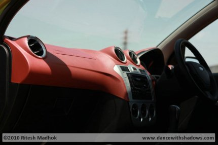 ford figo dashboard photo
