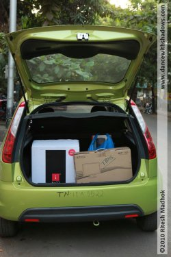 ford figo boot picture