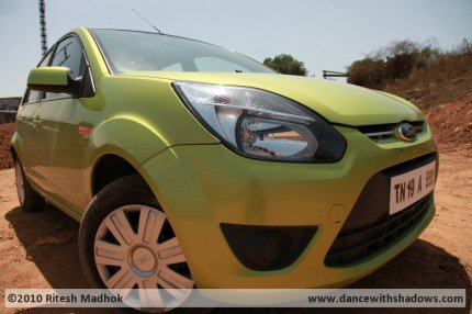 Ford Figo diesel titanium photo during road test
