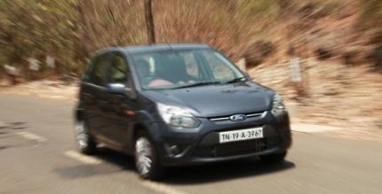 ford figo petrol 1.2 being road tested