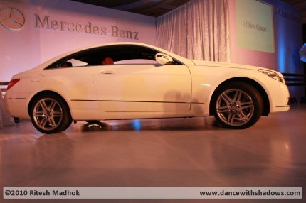 mercedes benz e350 coupe india photo