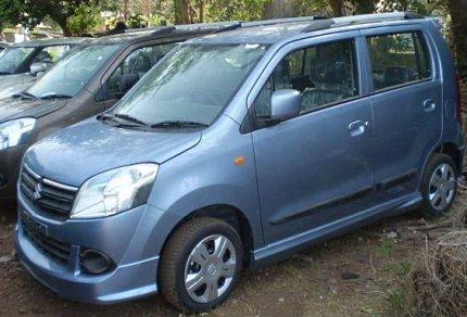 new k-series wagon r from maruti photo