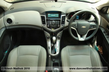 chevrolet cruze AT interior pic