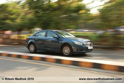 chevrolet cruze AT road test photo