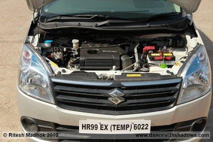 new wagonr engine photo