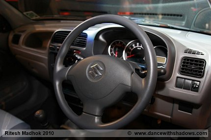 maruti alto k10 interior photo