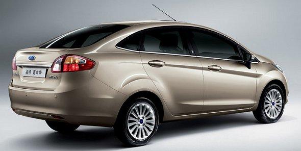 new ford fiesta sedan india