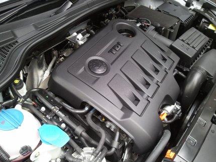 Skoda yeti engine photo