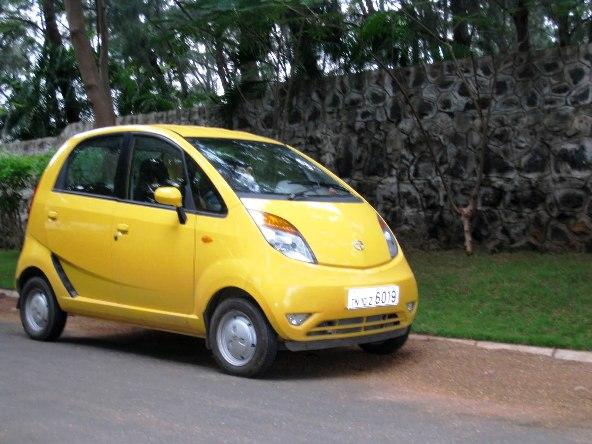 Tata nano road test photo 1