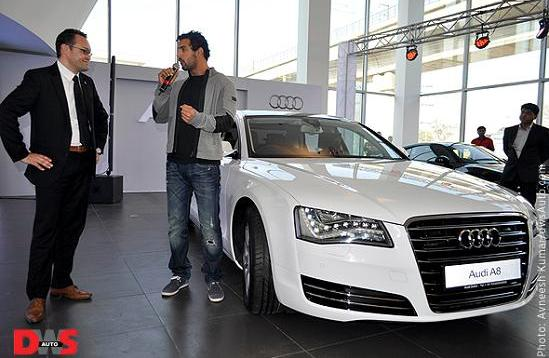 Audi A8 India Launch On January 10 2011