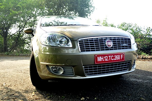 fiat linea road test pic