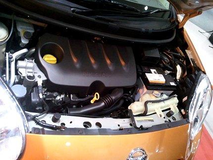 nissan micra diesel engine pic