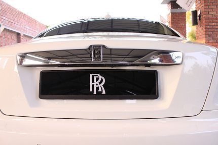 rolls royce ghost boot photo