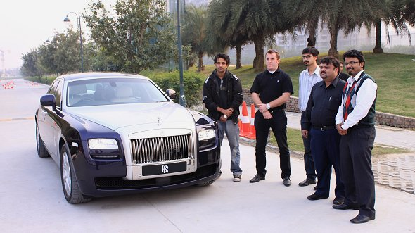rolls royce drive with dwsauto
