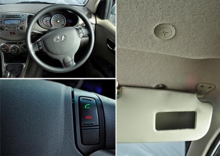 hyundai i10 interior review pics