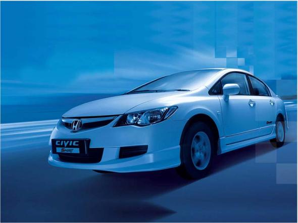 honda civic photo