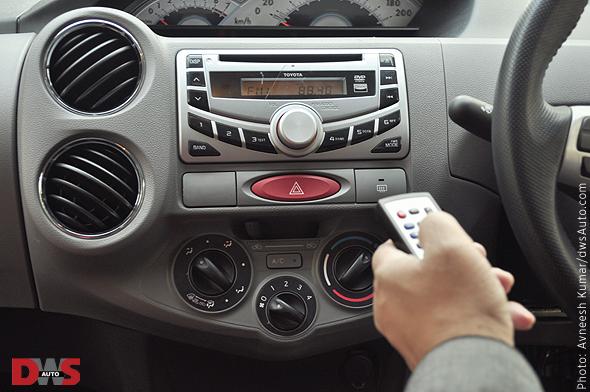 Toyota Etios audio system photo