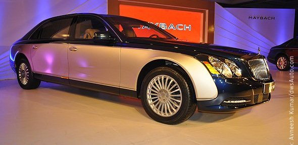 maybach india photo