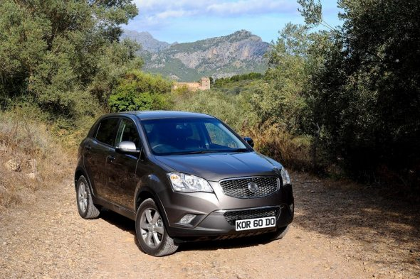 ssangyong korando photo 2