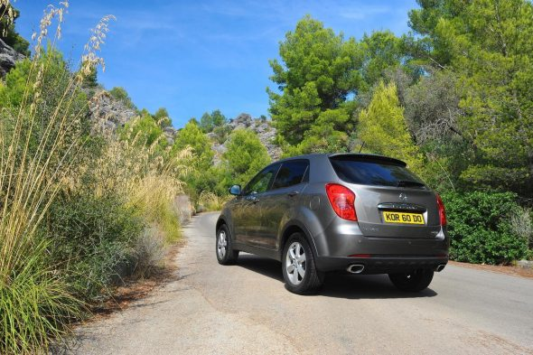 ssangyong korando photo 3