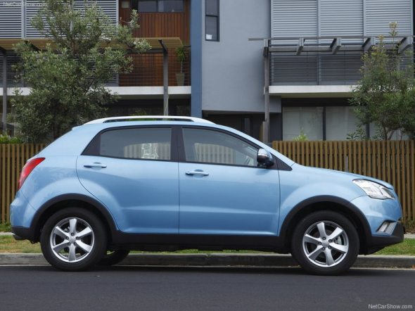 ssangyong korando photo 4
