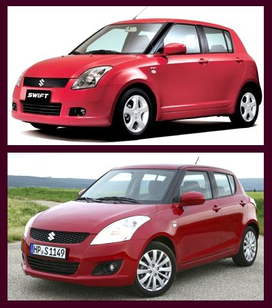 2010 maruti swift and 2011 maruti swift comparison